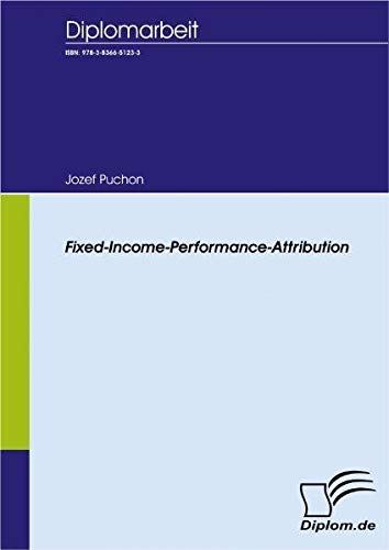 Fixed Income Performance Attribution (Diplomica)