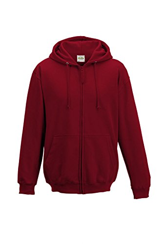Just Hoods - Sweat-shirt -  Homme Rouge - Red Hot Chilli
