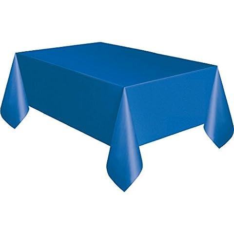 Tovaglia di plastica blu Royal, panno pulire partito Tovaglia rotonda Covers Panni forma: rettangolare Tovaglia