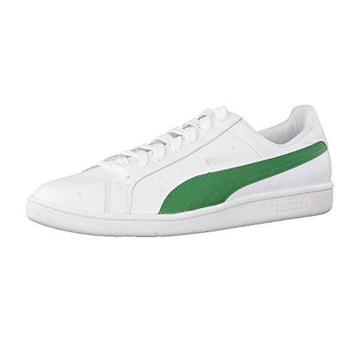 Puma Unisex-Erwachsene Smash Leather Sneaker, (White), 43 EU