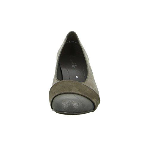 scarbella 42-63638-95 Damen Komfort Pumps eleganter Boden Grau (Grau)