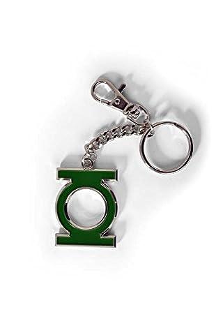 Green Lantern Logo Schlüsselanhänger Keyring Schlüsselring Karabiner NEU/OVP