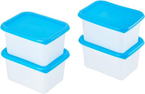 AmazonBasics - Set mit 4 Gefrierbehältern - 4 x 0,75 l