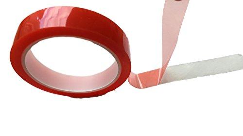 10Meter Doppelseitiges Klebeband EXTRA STARK Sticky Tape - Durchsichtig Dünn - Doppel-Band Klebefolie Montage Band - Innen & Außen Bau Werkstatt Haushalt 5mm o. 10mm o. 15mm o. 20mm (5mm)