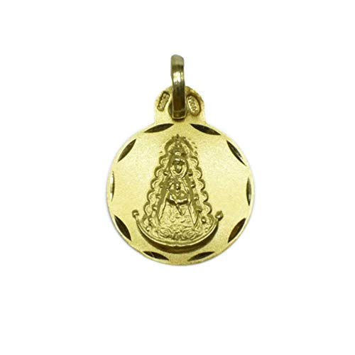 Medalla de Oro de 18 Klts de Mujer J. Luis JC-J.L-MED-023 (Virgen del Rocío)