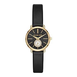 Michael Kors Reloj Analógico para Mujer de Cuarzo con Correa en Cuero MK2750