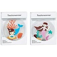 Taschenwärmer Taschenheizkissen Meerjungfrau 2er Set Nr 2 preisvergleich bei billige-tabletten.eu