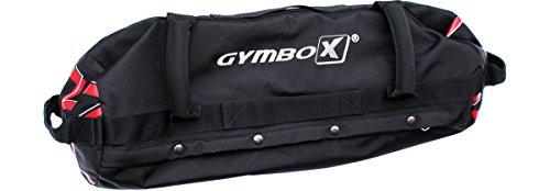 Gymbox Sandbag für funktionelles Training 25kg/50kg (25 Kilogramm) flexibel befüllbare Gewichtstasche für Sand