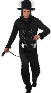 Costume da Toro con bandierina Uomo, Taglia: 50 - 52