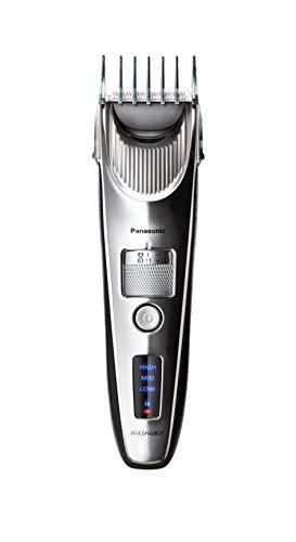 Panasonic Premium Haarschneider ER-SC60, 39 Längeneinstellungen, Haartrimmer 0,5-20 mm, Trimmer für Herren, mit Ladestation