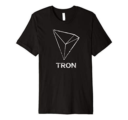 Tron TRX Logo T-Shirt Distressed (T-shirt Tron)