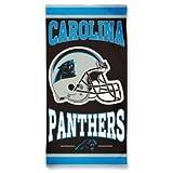 Carolina Panthers Cotton Beach Towel Helmet by McArthur