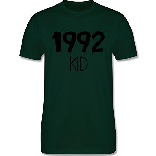 Geburtstag - 1992 KID - Herren Premium T-Shirt Dunkelgrün