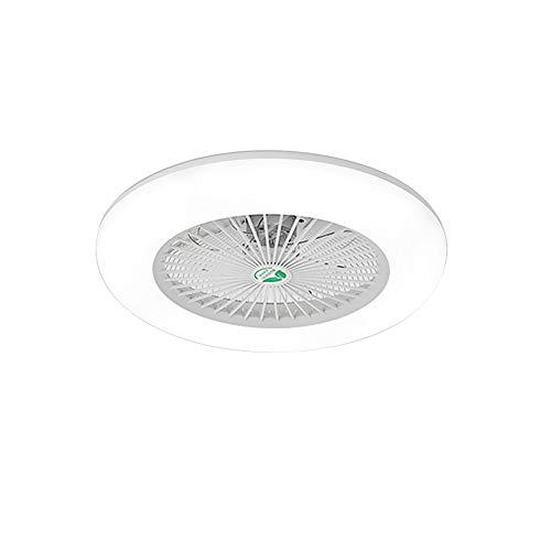 Lixada 36W Luz de Techo LED Lámpara de Pared Moderna Ventilador de Techo Ajustable con Control Remoto...