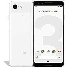 Google 99928198 - Smartphone Pixel 3, 13,86 cm (5,46 pollici), 2.5 GHz, 64 GB, 12,2 MP, colore: Bianco trasparente (Ricondizionato)