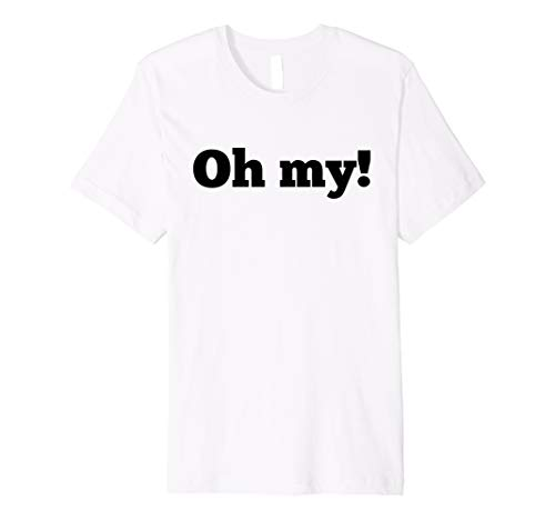 Oh my! T Shirt Tigers, Bears, Lions Halloween Group ()