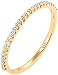 Diamore Ring Geo Microsetting Diamant (0,25 ct.) 585 Gelbgold