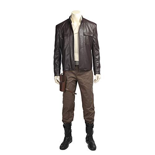 QWEASZER clothing Star Wars 8 die letzten Jedi 1: 1 Kostüm Deluxe Edition Superheld Cosplay Kleidung Kostüm Film Kleidung Requisiten Anpassbare Größe,Star - Deluxe Jedi Kostüm