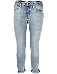 Levis 501 COWBOY LIGHT BLUE SKINNY STRETCH 29 Blau