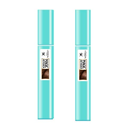 L'Oréal Paris Magic Retouch Précision Mascara Châtain 8 ml - Lot de 2
