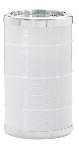 Platex 730050394 Bouteille Isotherme avec Recharges Eutectiques Isis Blanc Bague Chromée