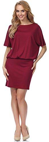 Merry Style Robe pour Femme MSSE0008 Bordeaux