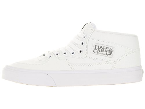 Vans Unisex-Adult Half Cab Schuhe (Canvas) True White/Wild Dove