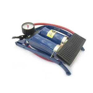 Original 100% Coido Foot Air Pump Compressor 8cm Twin Cylinder For Bike Car.  available at amazon for Rs.1799
