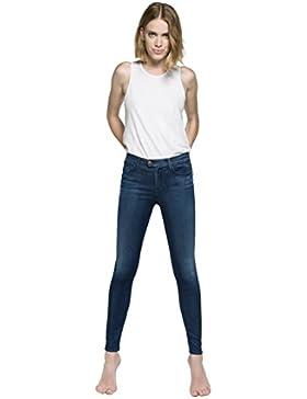 Replay Damen Jeanshose Touch_medium_blue