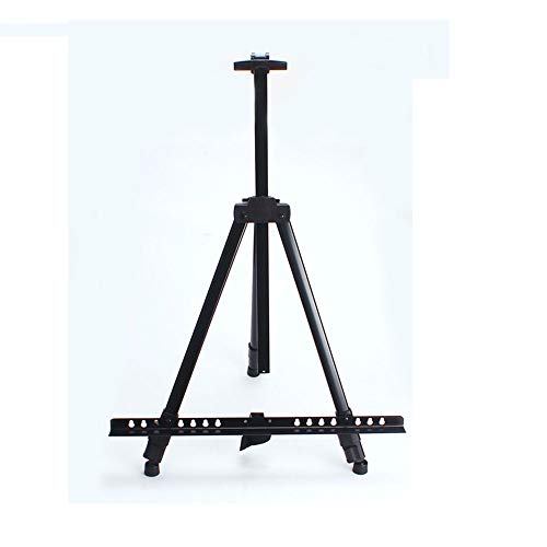 ZXRRSHOP Folding Easel, Sketch Easel Sketch Painting Tripod,Portable Poster, Adjustable 52-155 Cm with Storage Bag,for Artists Kids And Adults,Black,with Storage Bag