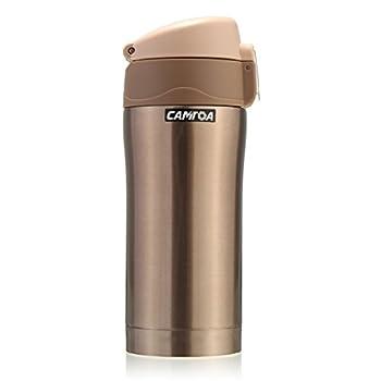 Thermosflasche,camtoa Thermoskanne Trinkflasche Edelstahl 500ml Tragbarer Tee Kaffeeheißgetränk Tasse Für Laufen, Fitness, Yoga, Auto Camping, Reisen, Fischen-führer. 10
