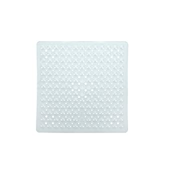 Slip-x Solutions Deluxe Square Shower Mat (Clear) 1
