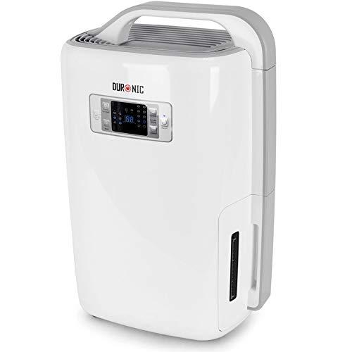 Duronic DH20 Deshumidificador Eléctrico Silencioso de 20 litros con 3 Prefunciones para Combatir Humedad, Moho y Condensación …