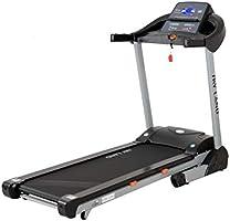 Skyland Unisex Adult Motorized Treadmill With auto inclind and Bluetooth Speaker- EM-1268 - Grey/Black, L=180 X W=76 X...