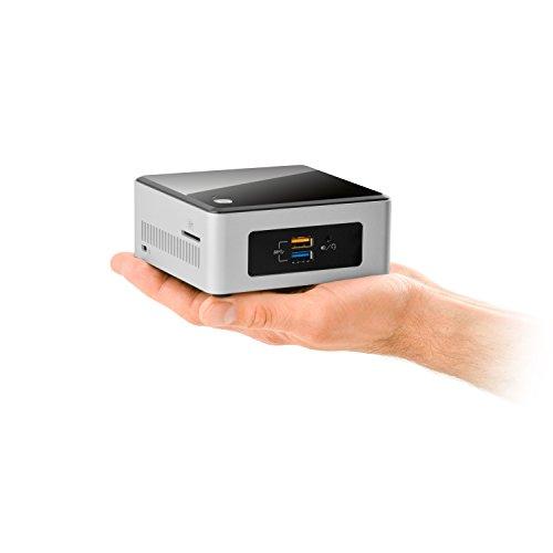 CSL Intel NUC Celeron N3050-2 - HTPC mit 2x 1600 MHz, 4 GB RAM, 120 GB SSD, Intel HD Graphics, USB 3.1, WLAN