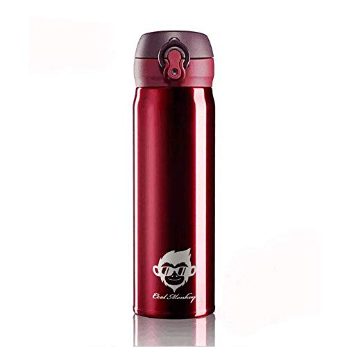 Cool Monkey Stainless Steel Thermos Bottle 500ml, Vacuum Flask Water Bottle