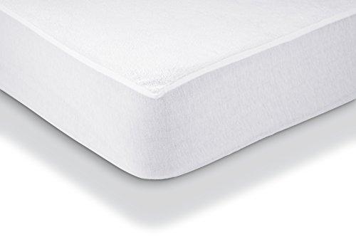 AmazonBasics-Protezione-impermeabile-per-materasso-in-spugna