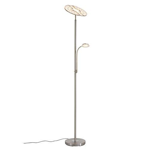 Briloner Leuchten Led Stehlampe Mit Flexibler Leselampe