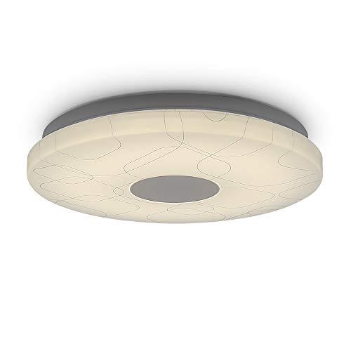 12W LED Deckenleuchte Deckenlampe Rund Küche Bad Lampe Mode-Muster Gerundet Licht 650lm Neutralweiß 4000K