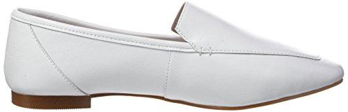 Unbekannt Damen Flora Slipper White (White Leather)