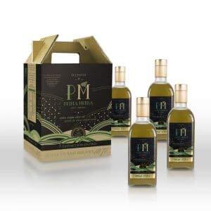 Aceite de Oliva Virgen Extra Premium Gourmet - 4 frascas de 500ml