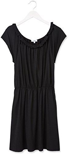 FIND Robe Ajustée à la Taille Femme Noir (Black)
