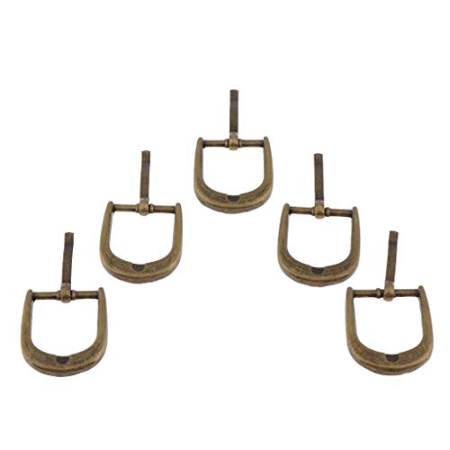B Baosity 20 Unids Hebilla Deslizante Triangular Triple Metálico Acce