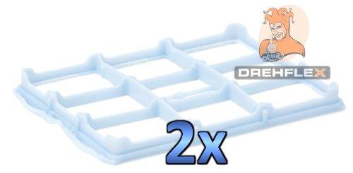 DREHFLEX® - 2x Filter / Motorfilter passend für Staubsauger / Bodenstaubsauger der Marke Bosch - für 578863 / 00578863 ersetzt 618907 / 00618907