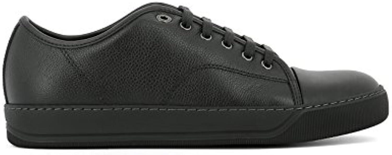Lanvin Herren SKDBB1TGLEA161010 Schwarz Leder Sneakers