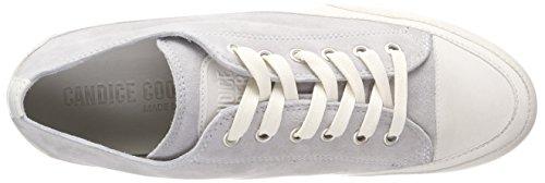 Candice Cooper Damen Camoscio Sneaker Grau (Perla)