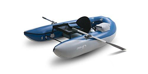 Outcast Boats Fisch Katze Scout rahmenlose Fischerboot dunkelblau/hell grau, One Size