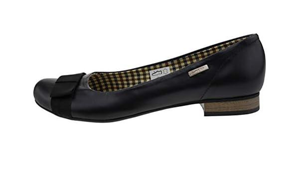 Zapato 7 Leder Ballerina schwarz, Groesse:40.0: