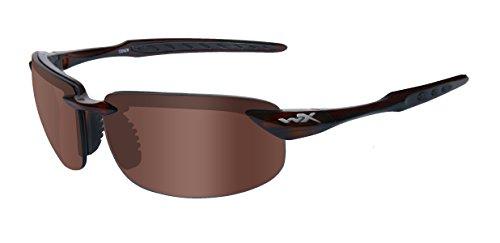 Wiley X Schutzbrille WX Tobi aus der Active Kollektion, Crystal Braun, M-L, ACTOB02