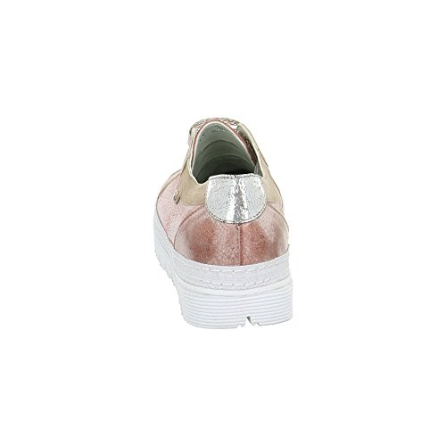 Jana Shoes GmbH & Co KG Damen Schnür-Halbschuhe Rot